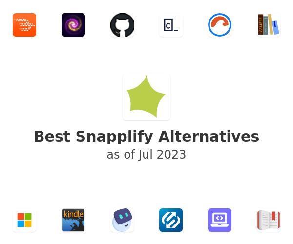 Best Snapplify Alternatives