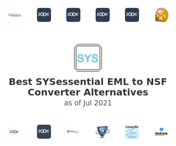 Best SYSessential EML to NSF Converter Alternatives