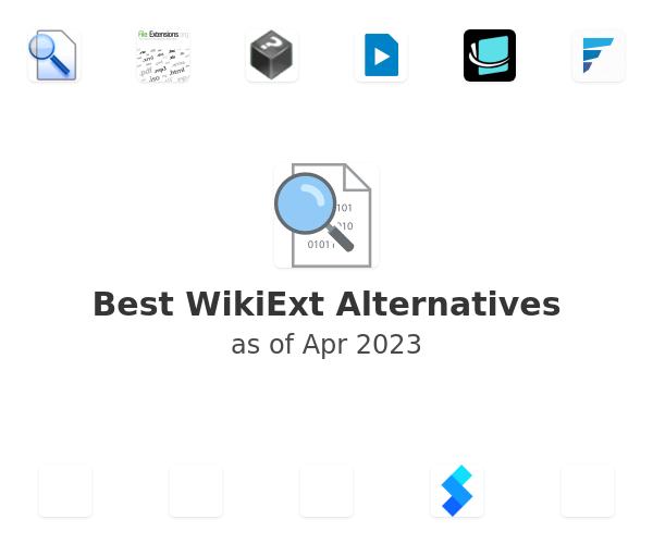Best WikiExt Alternatives