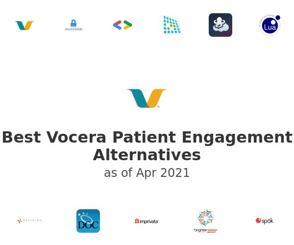 Best Vocera Patient Engagement Alternatives