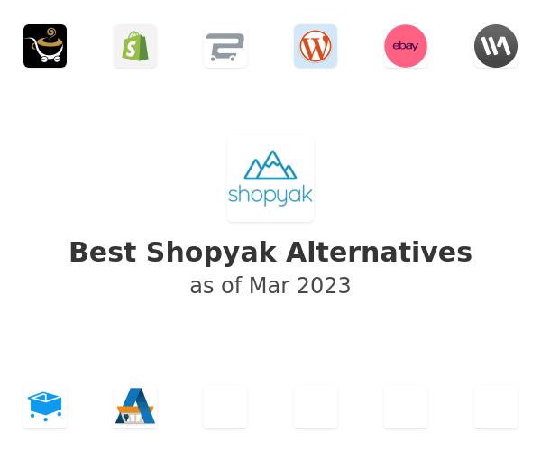 Best Shopyak Alternatives