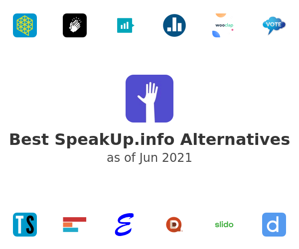 Best SpeakUp.info Alternatives