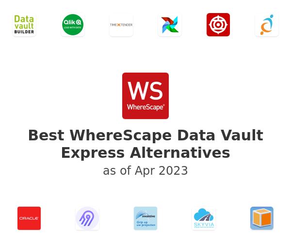 Best WhereScape Data Vault Express Alternatives