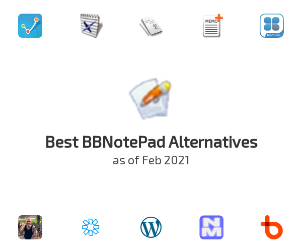 Best BBNotePad Alternatives