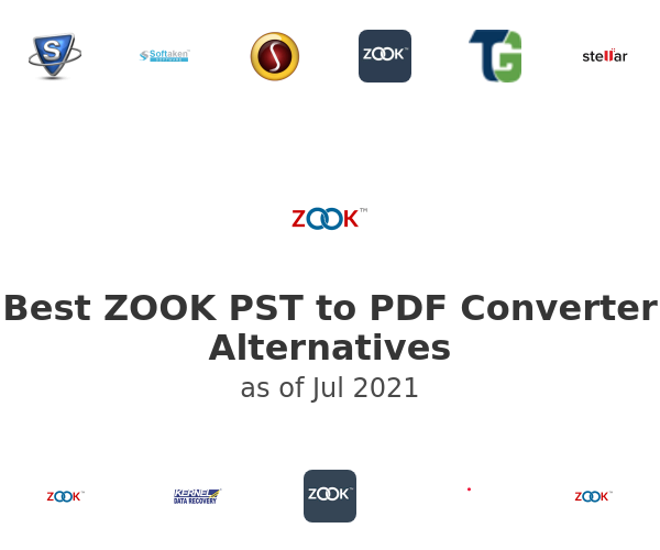 Best ZOOK PST to PDF Converter Alternatives