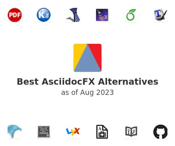 Best AsciidocFX Alternatives
