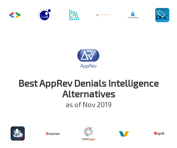 Best AppRev Denials Intelligence Alternatives