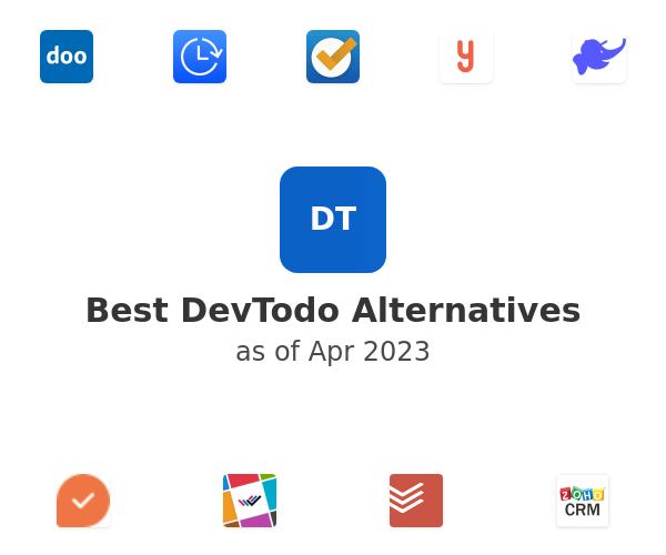 Best DevTodo Alternatives