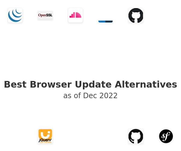 Best Browser Update Alternatives