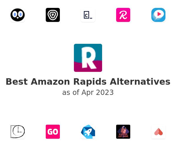 Best Amazon Rapids Alternatives