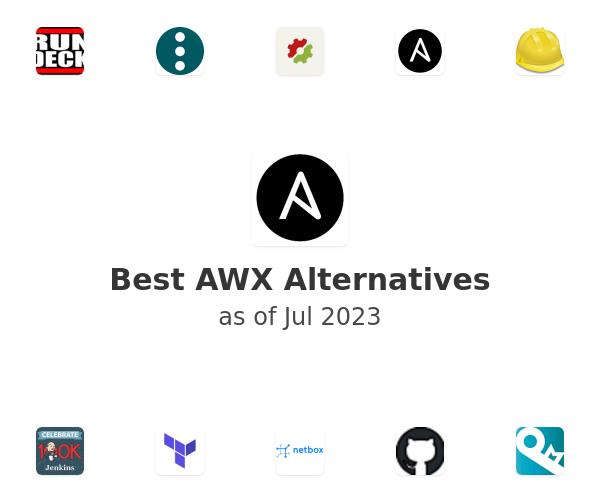 Best AWX Alternatives