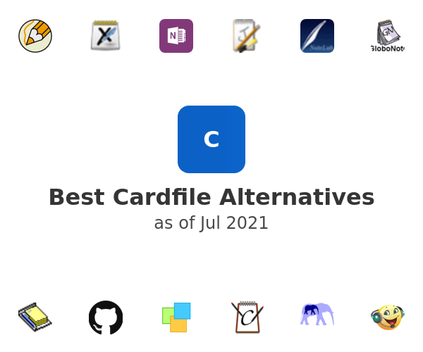 Best Cardfile Alternatives