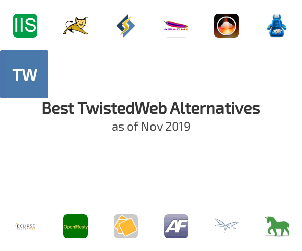 Best TwistedWeb Alternatives