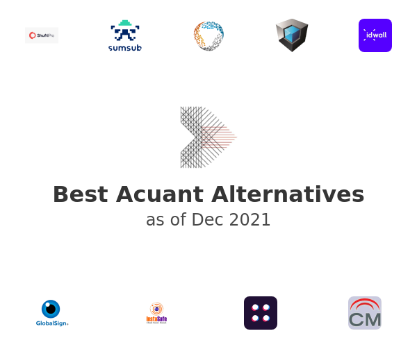 Best Acuant Alternatives