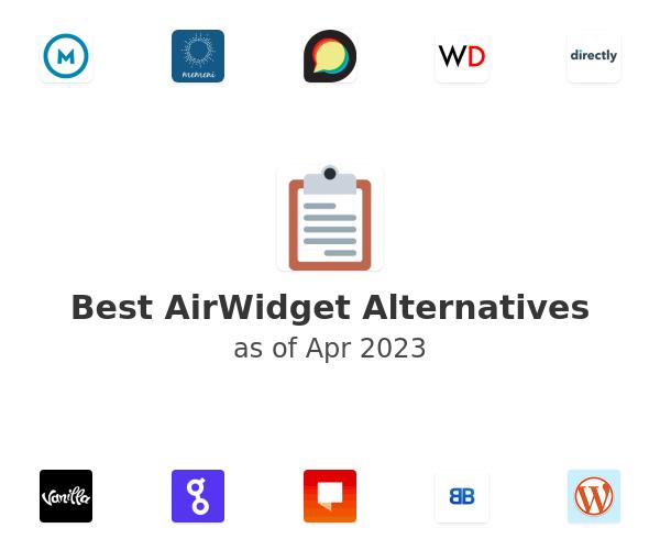 Best AirWidget Alternatives