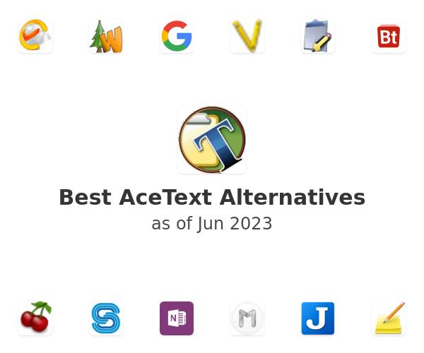 Best AceText Alternatives