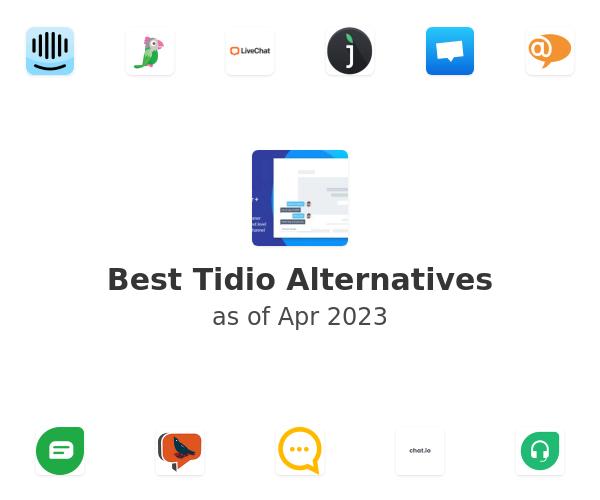 Best Tidio Alternatives