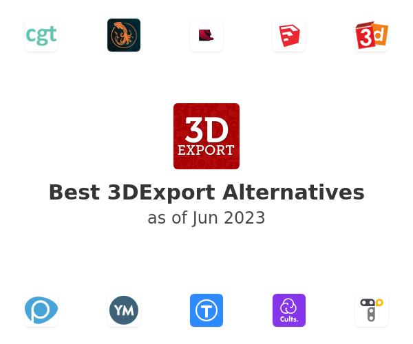 Best 3DExport Alternatives