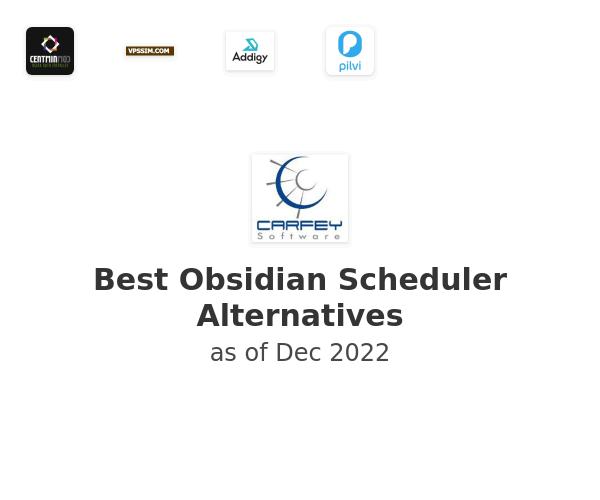 Best Obsidian Scheduler Alternatives