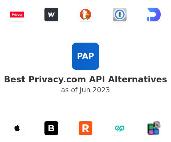 Best Privacy.com API Alternatives