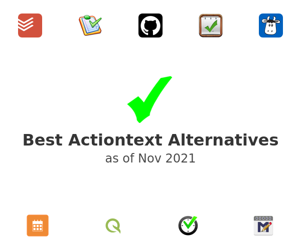Best Actiontext Alternatives