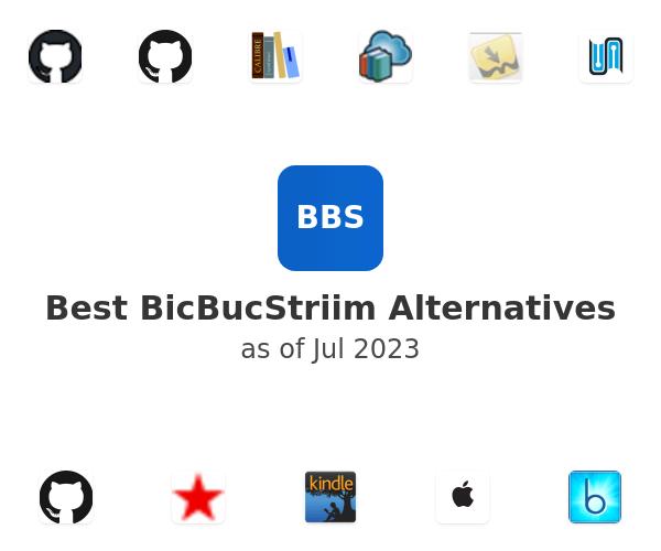 Best BicBucStriim Alternatives