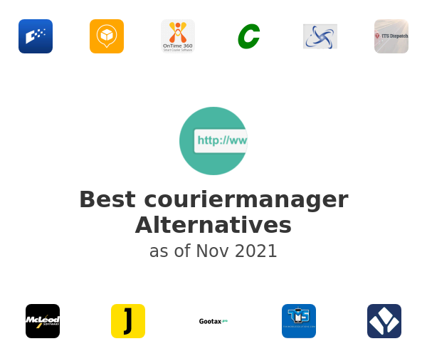 Best couriermanager Alternatives