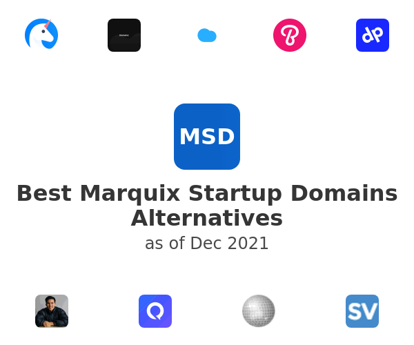 Best Marquix Startup Domains Alternatives
