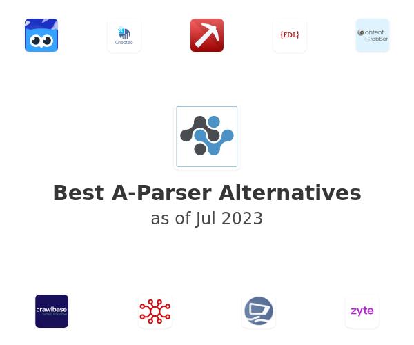 Best A-Parser Alternatives