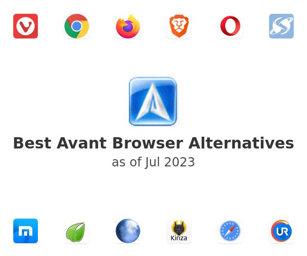Best Avant Browser Alternatives