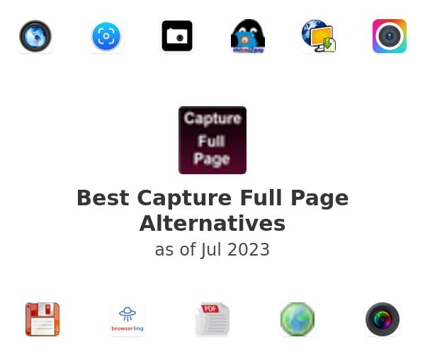 Best Capture Full Page Alternatives
