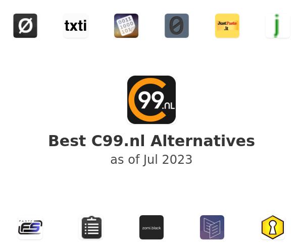 Best C99.nl Alternatives
