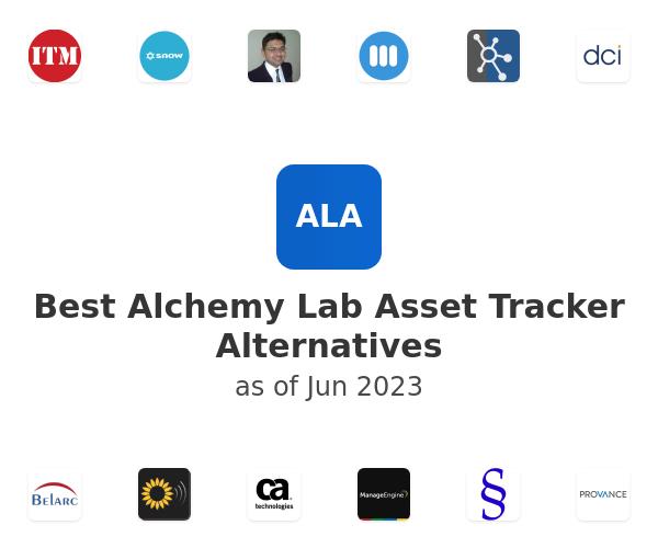Best Alchemy Lab Asset Tracker Alternatives