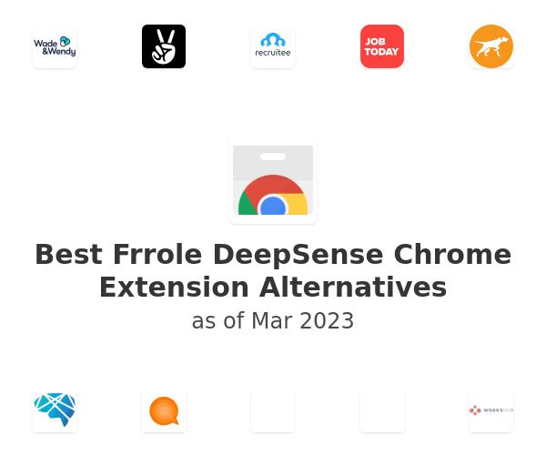 Best Frrole DeepSense Chrome Extension Alternatives