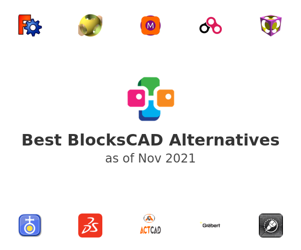Best BlocksCAD Alternatives