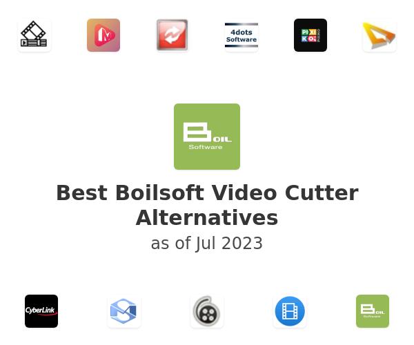 Best Boilsoft Video Cutter Alternatives