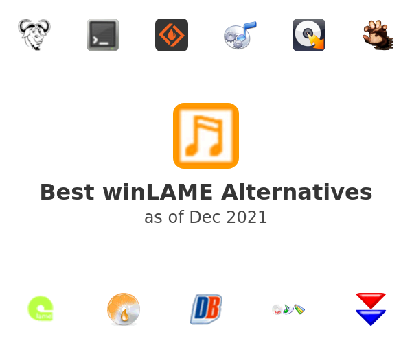 Best winLAME Alternatives