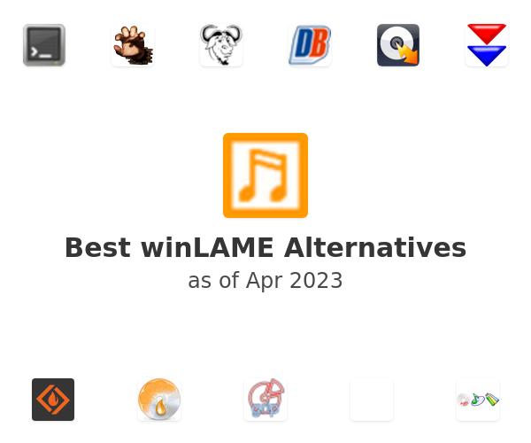 Best winLAME Alternatives
