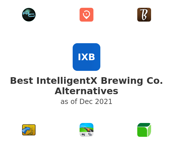 Best IntelligentX Brewing Co. Alternatives