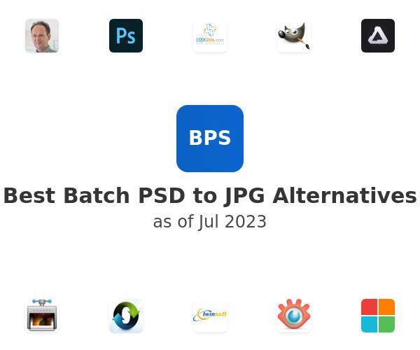 Best Batch PSD to JPG Alternatives