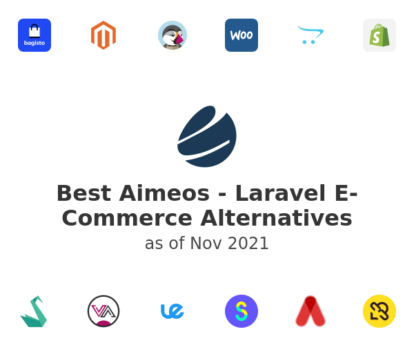 Best Aimeos - Laravel E-Commerce Alternatives