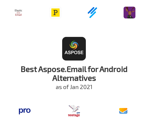 Best Aspose.Email for Android Alternatives