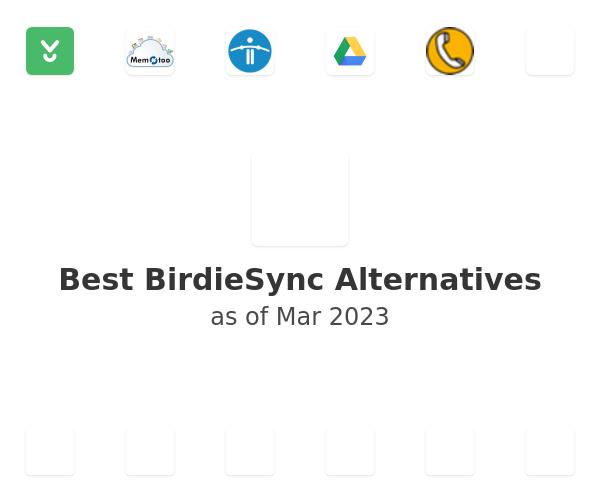 Best BirdieSync Alternatives