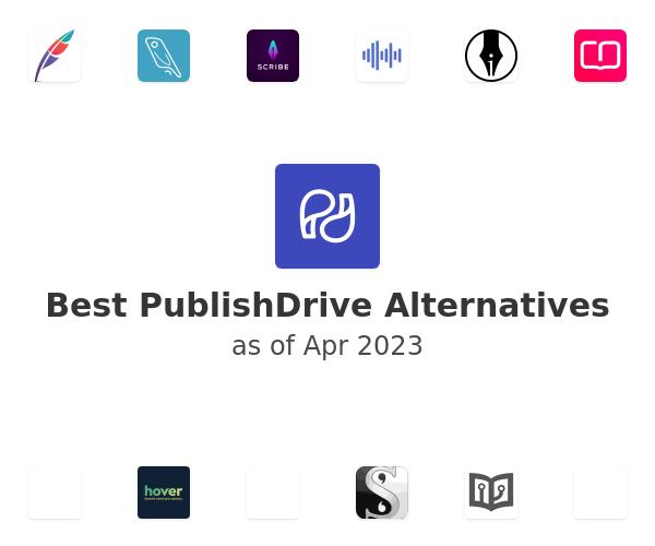 Best PublishDrive Alternatives