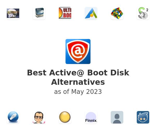 Best Active@ Boot Disk Alternatives
