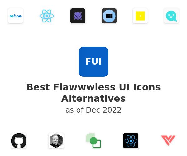 Best Flawwwless UI Icons Alternatives