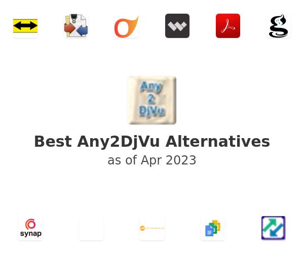 Best Any2DjVu Alternatives
