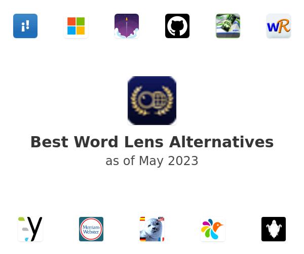 Best Word Lens Alternatives