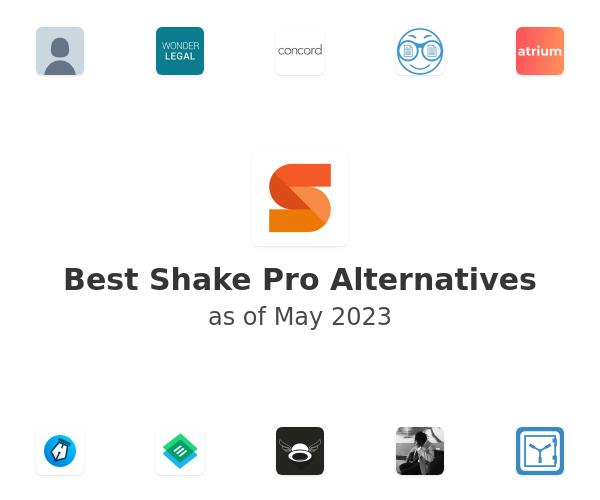 Best Shake Pro Alternatives