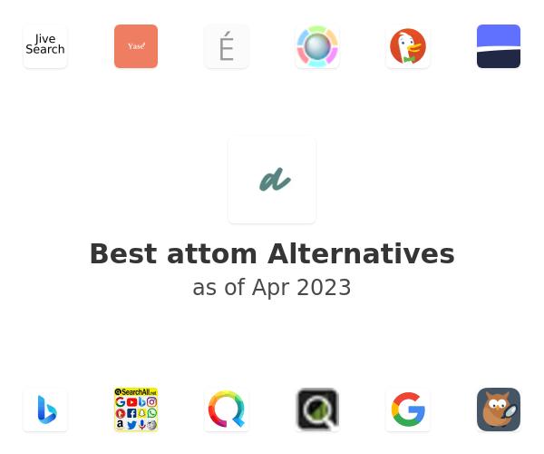 Best attom Alternatives